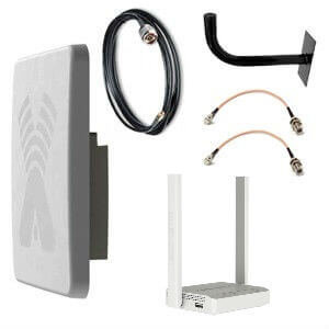 Комплект оборудования GZ для усиления сигнала сотовой сети LTE