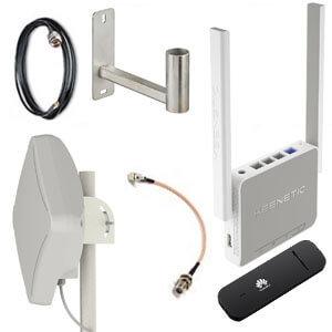 Комплект оборудования LZ для усиления сигнала сотовой сети LTE